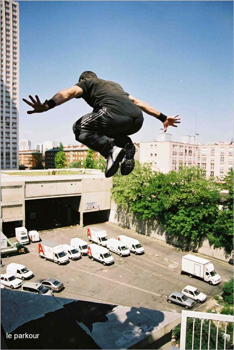 Смотреть как занимаются на крыше 12 фотография